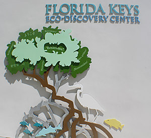 Entry to the Florida Keys Eco-Discovery Center