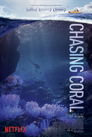 Movie poster for Chasing Coral.