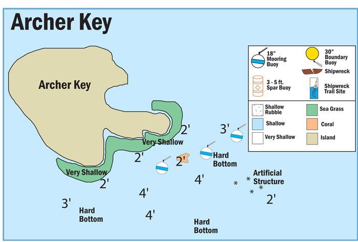 Map of Buoys at Archer Key Key Map on graph key, help key, home key, no name key, defiant lock key, city key, del key, elevation key, ferry to anclote key, list key, game key, microscope key, art key, clock key, plate tectonics crossword answer key, time key, table key, house key, car key, chart key,
