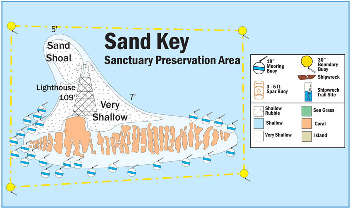 flex maslan Kayakfari reef sand key west lighthouse kayak paddle dive history photography surfski Sanctuary Preservation Area
