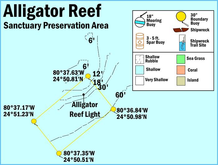 Alligator Reef Sanctuary Preservation Area