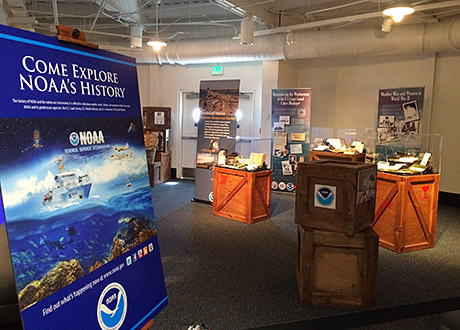 noaa's ark exhibit displays