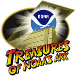 Treasures of NOAA's Ark logo