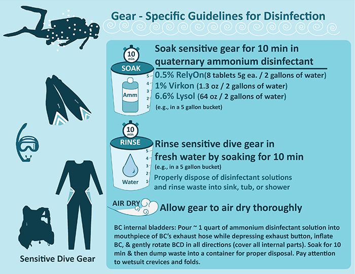 infographic relating to the Gear-specific Guidelines below